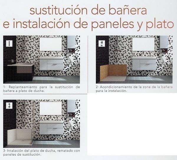 Oferta plato de ducha sint tico con marco gneis poalgi for Paneles revestimiento ducha