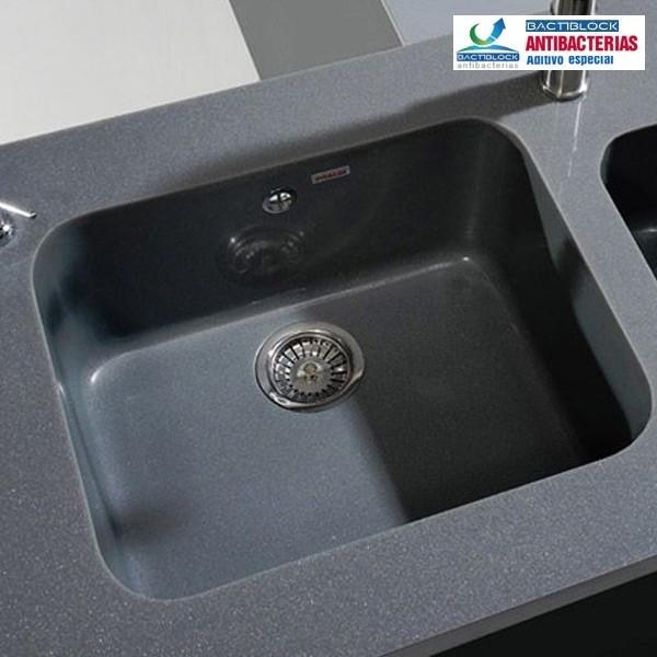 Poalgi fregadero sint tico modelo gandia 50 1 cubeta for Fregaderos de aluminio