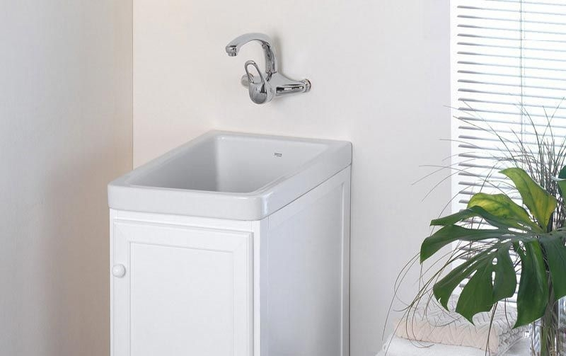 Pila o lavadero sint tico silex poalgi marmoles goama - Muebles para lavaderos ...