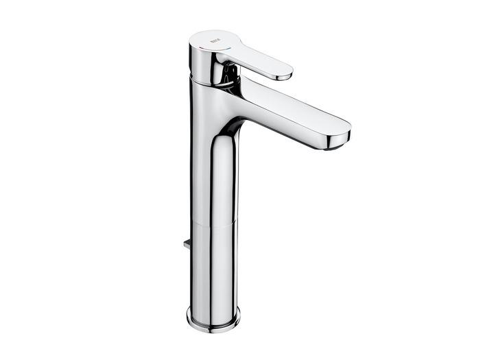 Grifo de ca o alto para lavabo serie l20 5a3c09c00 for Catalogo griferia roca
