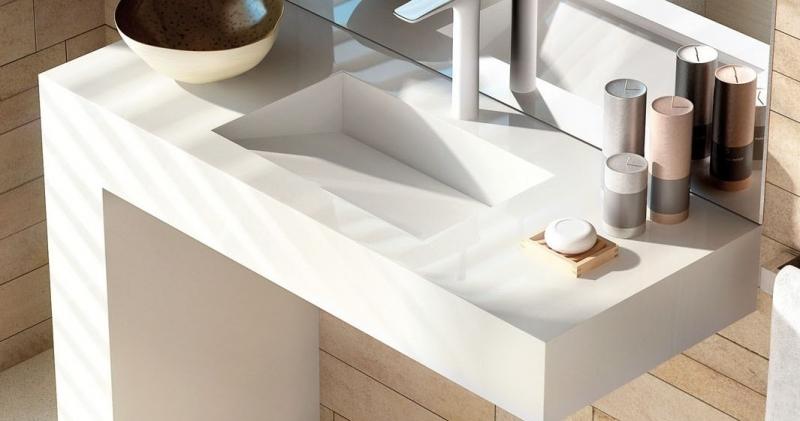 Lavabo balance de silestone marmoles goama sl - Encimeras de bano de silestone ...