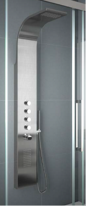 Columna hidromasaje termostatica nova salgar marmoles for Columna termostatica