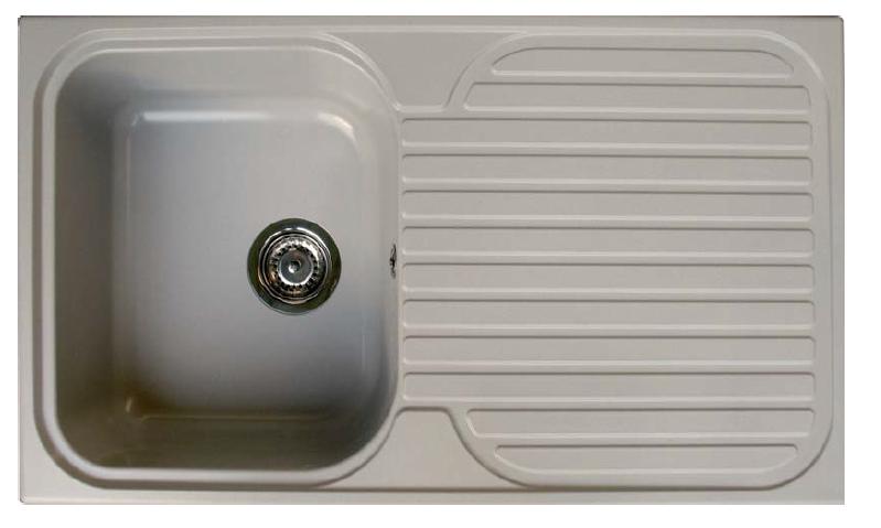 Fregadero sintetico stkz 1c1e sintetika marmoles goama - Fregaderos de fibra ...