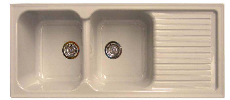 Fregadero sint tico stkz 2c1e sintetika marmoles goama - Fregaderos de fibra ...