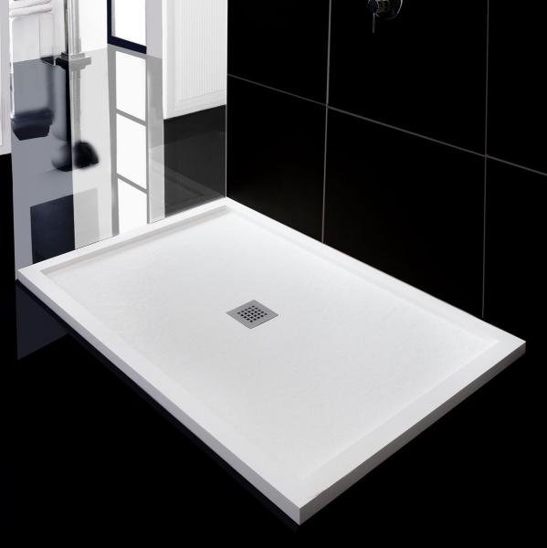 Plato de ducha stone serie siroco syan aquasilk marmoles - Plato de ducha silestone ...