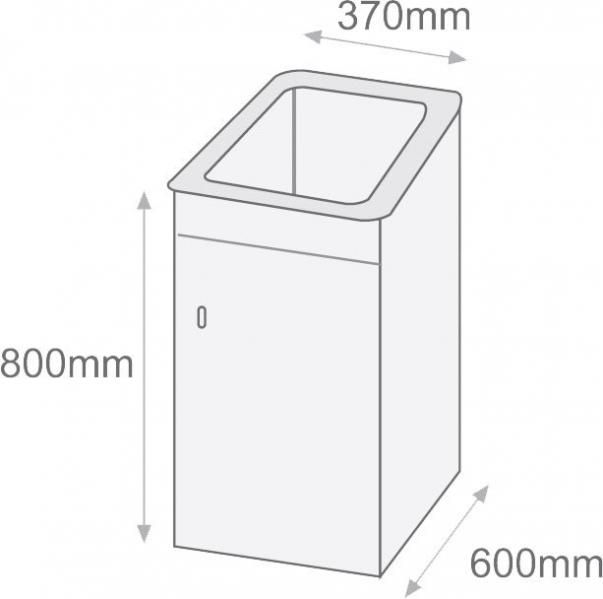 Pila o lavadero apolo syan marmoles goama sl for Lavadero medidas