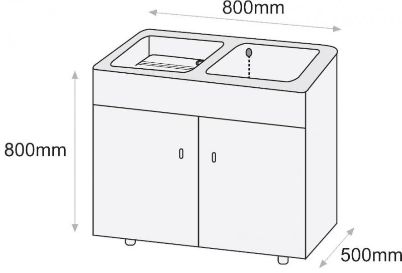 Pila o lavadero thor syan marmoles goama sl for Lavadero medidas