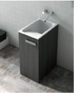 Pila o lavadero sint tico silex poalgi marmoles goama - Pilas de lavar con mueble ...