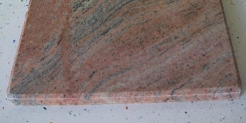 Tabla de corte de cocina de granito rojo multicolor for Granito color rojo