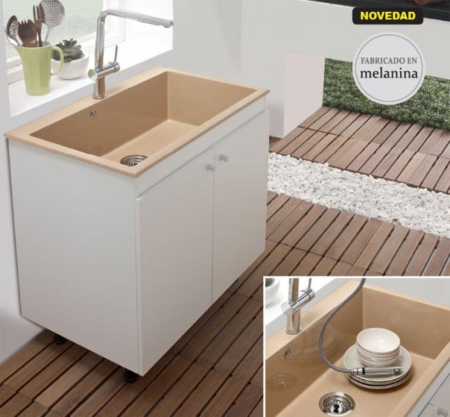 Mueble para fregadero vali syan marmoles goama sl for Mueble fregadero cocina