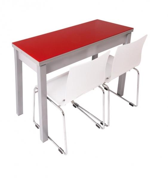 Mesa de cocina plegable reflex marmoles goama sl - Mesa extraible cocina ...