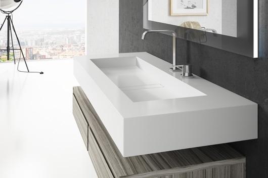 Lavabo de silestone modelo reflection marmoles goama sl - Precio silestone blanco ...
