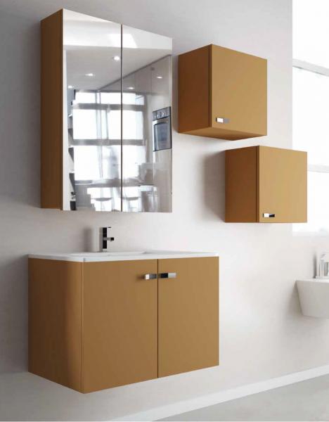 Mueble de ba o fondo reducido vega 2p campoaras marmoles - Muebles de bano de fondo reducido ...