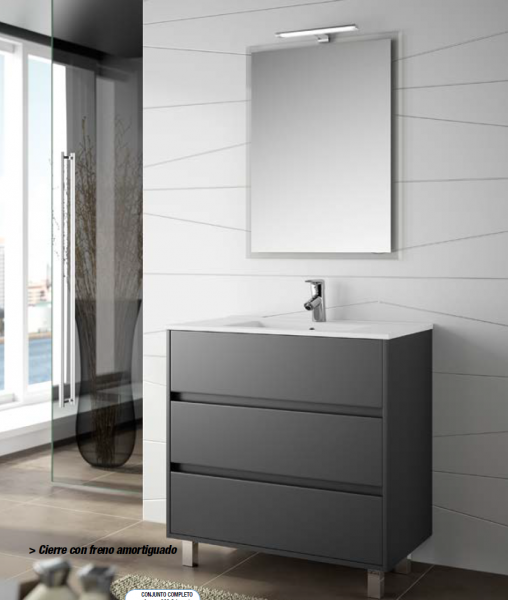 Mueble de ba o arenys salgar envio gratis marmoles - Salgar muebles de bano ...