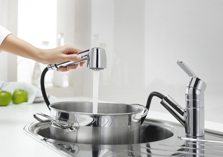 Grifo de cocina serie victoria con ducha roca a5a8125c00 - Grifos de cocina de pared ...