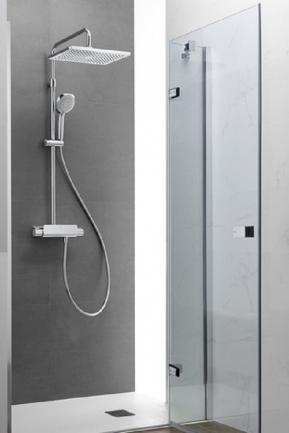 Columna termost tica deck t square roca marmoles goama for Columna termostatica