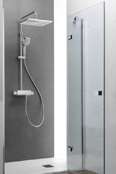 Columna termost tica deck t square roca marmoles goama for Duchas roca catalogo