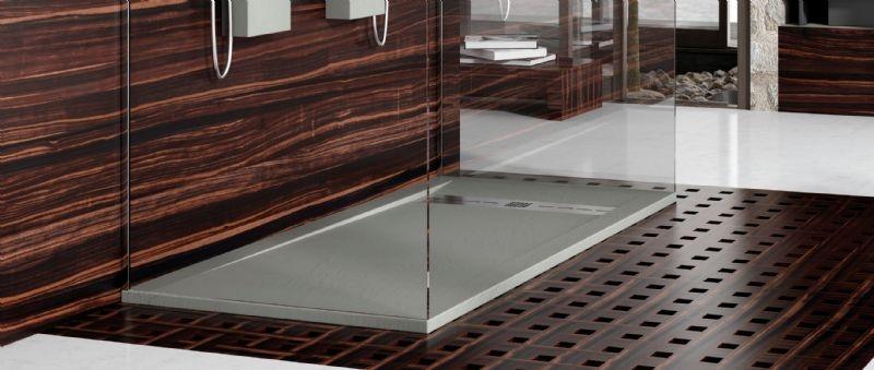 Oferta plato de ducha sint tico gneis poalgi marmoles for Platos de bano precios