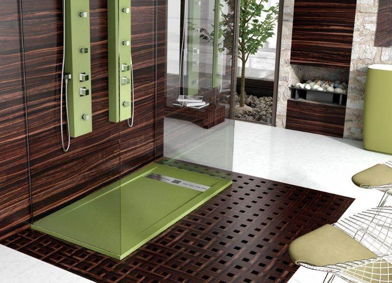 Oferta plato de ducha sint tico gneis poalgi marmoles for Revestimiento sintetico para banos