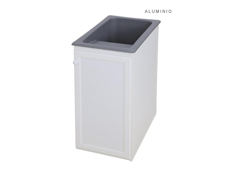 Mueble para pila de 40 cm de aluminio syan env o gratis a for Mueble de aluminio exterior
