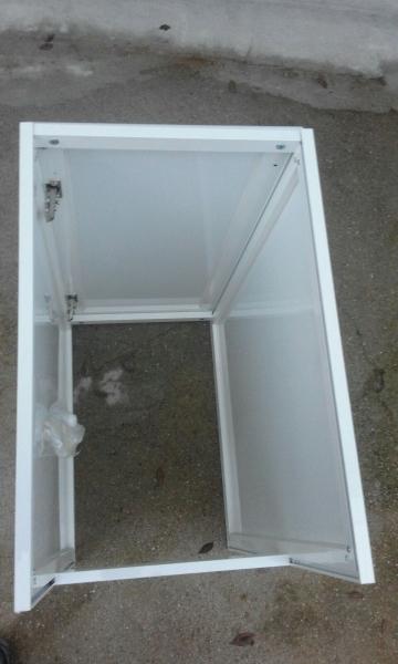 Mueble para pila de 40 cm de aluminio syan env o gratis a for Modelos de lavaderos