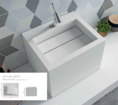 LAVABO SOLID SURFACE COMPAC. ANYWAYSOLID