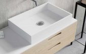 LAVABO SOLID SURFACE SQUARE. ANYWAYSOLID